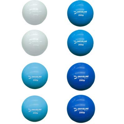 Driveline Hitting PlyoCare Balls - Weighted Balls for Baseball Hitting Training (8-Pack)