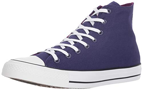 Seasonal Icons - Converse Chuck Taylor All Star 2018 Seasonal High Top Sneaker, New Orchid/icon Violet, 11 M US men's,13 M US women's