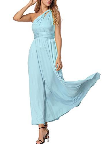 Manera Vestido Convertibles Longitud FeelinGirl Falda Noche Azul Fiesta Mujer Tirantes Claro de Máxima Cóctel Multi 5waa7vq