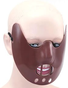 Hannibal Lecter Costume (Hannibal Lecter Face Mask)