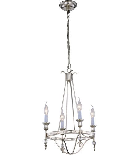 Pendants Porch 4 Light With Urban Classic Polished Nickel size 17 in 160 Watts - World of Classic (Phoebe 4 Light)