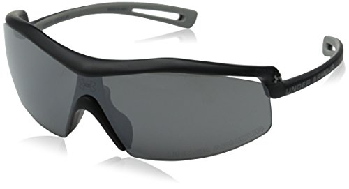 Under Armour Draft Sport Sunglasses, Satin Black Frame/Gray Lens, one - Under Armour Draft