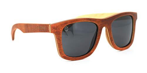 Óculos De Sol De Madeira Merlino, MafiawooD
