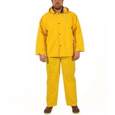 Tingley Industrial 3 Piece Waterproof Rain Suit, Large by TINGLEY (Image #1)