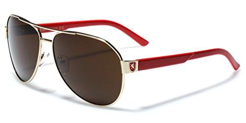 [Fashion Aviator Sunglasses Classic Retro Vintage 80s Glasses] (80s Male Fashion)