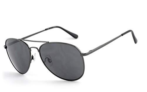 taille Metal Homme Eyewear unique Lunettes Grau HOH Gris Gun de soleil wO76xx8zq