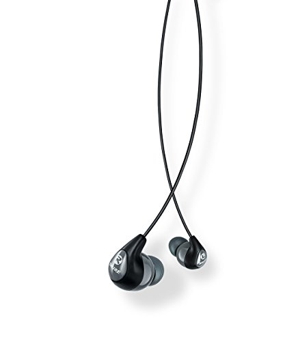 Shure SE112-GR Sound Isolating Earphones with Single Dynamic (Single Source Wireless Headphones)