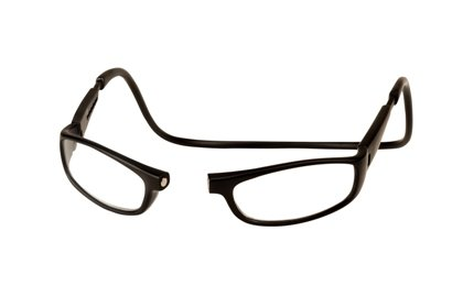 Impulse 1.75 Euro Matte Black Reading Glasses - Euro Glasses