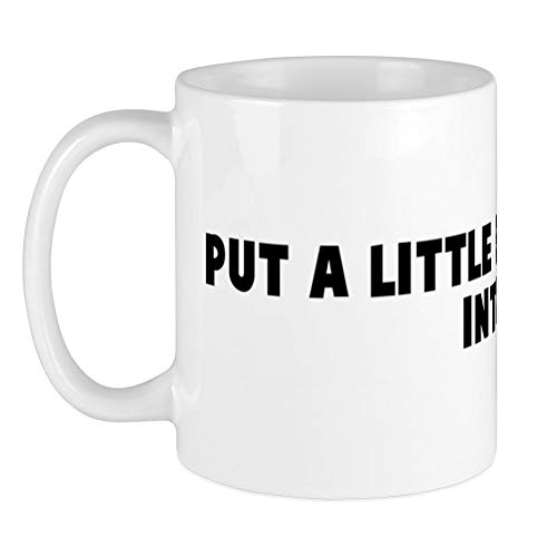 - CafePress Put A Little Elbow Grease Int Mug Unique Coffee Mug, Coffee Cup