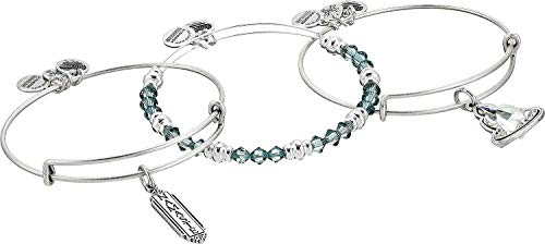 Alex and Ani Womens Crystal Infusion Namaste Set of 3