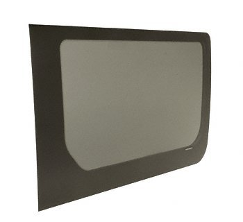 2007+ OEM Design All Glass Look Fixed Passenger Side Sliding Door 140 and 170 Wheel Base