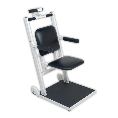 [Detecto Digital Chair Scale with Flip Up Seat and Arm Rests with Concealed Wheels] (Detecto Digital Chair Scale)