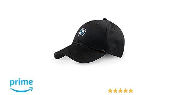 BMW Original Colección Emblema Logo Gorra con Visera Ajustable ...