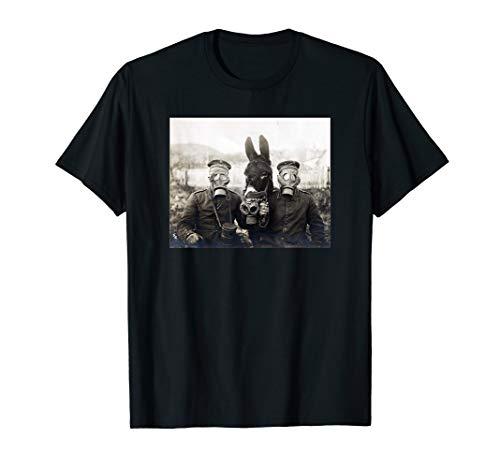 WW1 Vintage Gas Mask Donkey Shirt