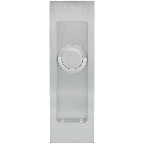 Brass Accents Flush Bolt (INOX FH2792-26D PD Series Pocket Linear Flush Pull with TT09 Thumb Turn, Satin Chrome)