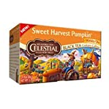 Celestial Seasonings: Sweet Harvest Pumpkin, Black Tea (Pack of 3)