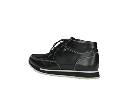 boot Baskets E Confort 20009 Noir Wolky Cuir Stretch wt6zqwgd