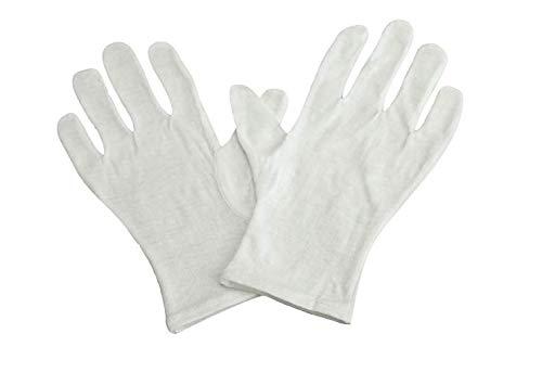 Graham Field Infection Control - Graham Field Grafco Infection Control Glove White Cotton Gloves Medium/Large - Dozen