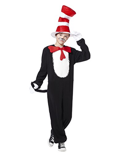 Spirit Halloween Kids Cat in the Hat Costume – Dr. (Dr Seuss Costume For Kids)