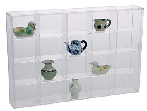 (Acrylic Glass Display Case for Rocks, Minerals & Figurines )