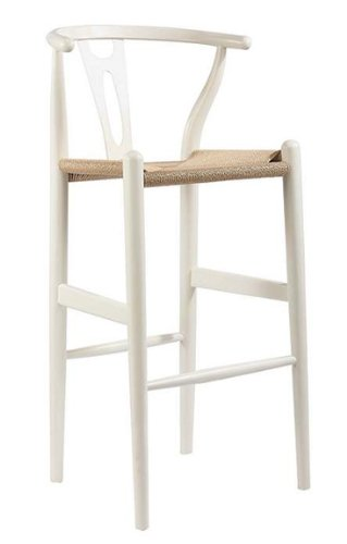 white faux leather counter stools with rush seat antique wood wishbone stool