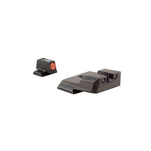 Trijicon S&W M&P HD Night Sight Set, Orange Front Outline (Smith And Wesson M&p 40 Pro Series Review)
