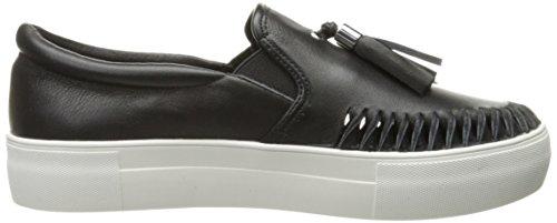 J Slides JSlides Women's Aztec Fashion Sneaker Black Leather clearance cheap clearance best prices K3KT0vg