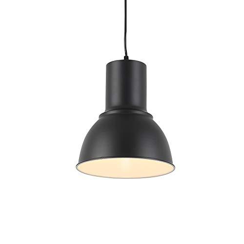 Pendant Light,Joosenhouse Retro Style Vintage Loft Design Black Hanging Ceiling Light Lamp,Industrial Lighting Fixtures and Decoration for Living Room Bedroom (Black Without E26 Bulb)