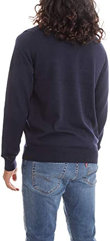 Fred Perry Classic Crew Neck Jumper Sweater Męskie: Sport & Freizeit