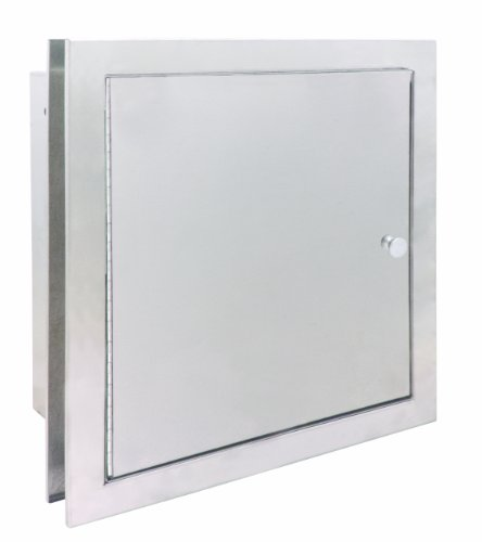 Bradley 9813-000000 18 Gauge Satin Stainless Steel Specimen Pass-Thru Cabinet with Exposed Surfaces, 13-3/8