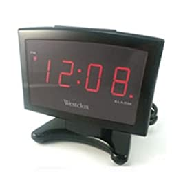 Plasma LED Alarm Clock