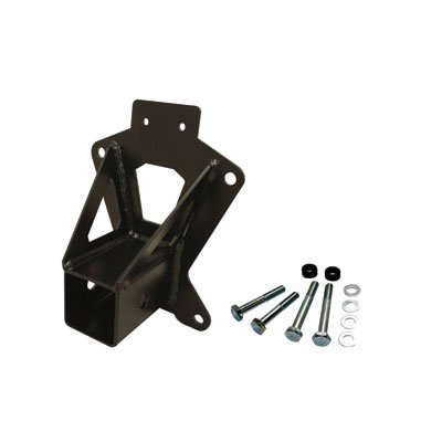 Dragonfire Racing UTV Rear Receiver Hitch Black for Can-Am Maverick Max 1000 X rs Turbo 2016-2017