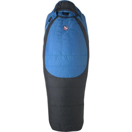 Big Agnes Storm King 0-Degree Down Sleeping Bag - Men's Sleeping bags REG Black/Blue RIGH