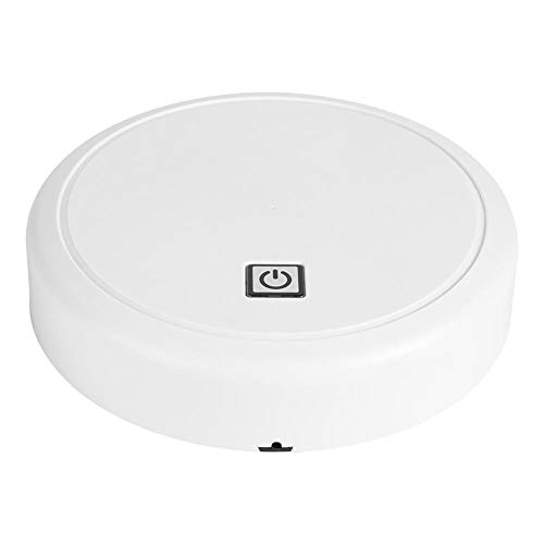 Simlug 【𝐇𝐚𝐩𝐩𝒚 𝐍𝐞𝒘 𝐘𝐞𝐚𝐫 𝐆𝐢𝐟𝐭】 Wi-Fi Vacuuming Sweeping Robot, Robotic Vacuums, Sweeping for Pet Hair Floating Dust(White)