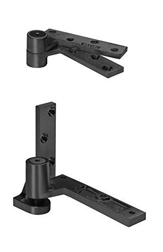 Rixson 195 613 LH 195 x LH x 613 Regular Pivot, Frame Attached, Brass Finish by Rixson