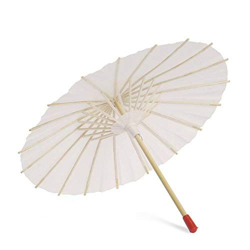 (Blank Oil Paper Umbrella For Children Diy Project Home Decor Accessories Art Painted Decorative,A1-22Cm)