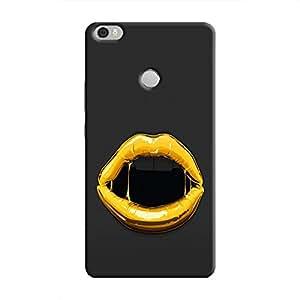 Cover It Up Gold Lips Hard Case for Xiaomi Mi Max - Multi Color