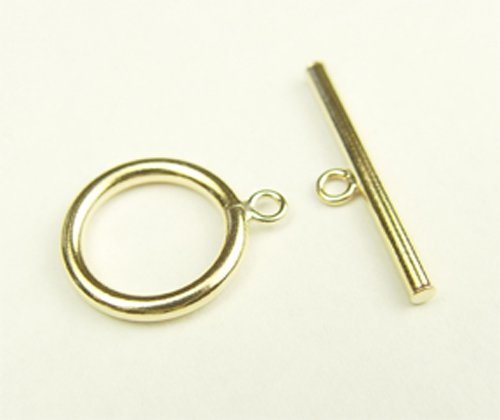 14kt gold filled toggle clasp 15mm 2 sets