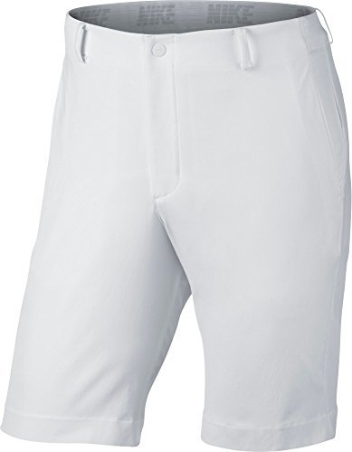 Nike White Twill Shorts - NIKE Flex Men's Golf Shorts (White, 36)