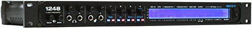 MOTU 1248 32x34 Thunderbolt/USB 2.0 Audio Interface with AVB