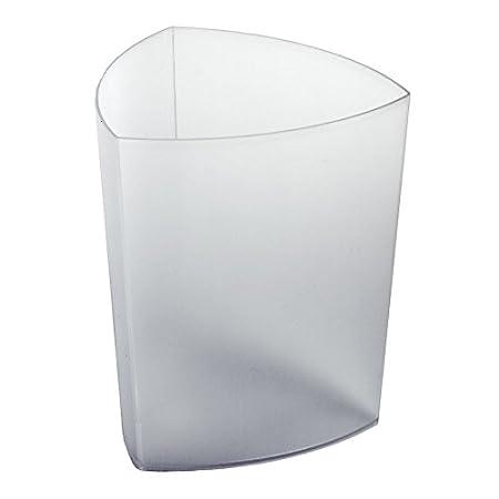 REXITE - ECO PRO CESTINO GETTACARTE, colore bianco transl.