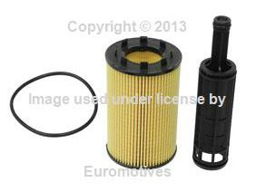 Audi vw 3.2L/TDI (01-13) Oil Filter KIT (x1) BOSCH