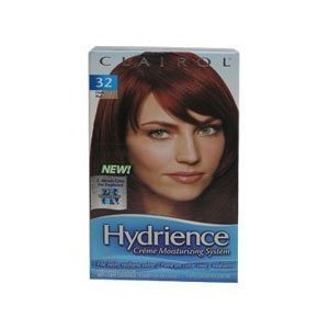 Amazoncom Clairol Hydrience 32 Hibiscus Dark Red Hair Color