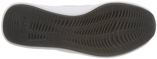 White Bright Collo Alto a Uomo Sneaker Aldo Pinzano Bianco qWTt08n