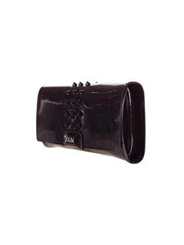 Talla Un Negro Caucho Gum De Para Cruzados Mujer Bolso wP00qBpT