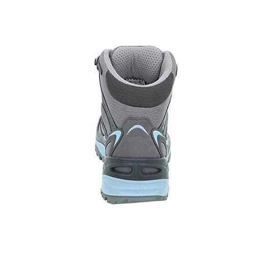 Chiaro Randonnée Hautes 9070 Femme grigio Innox Grau Chaussures Lowa Mid Ws Gtx De blu Y0Wgqw7