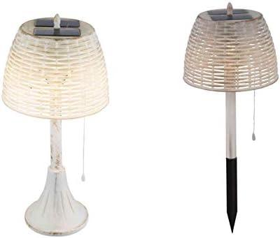 Lámpara solar para jardín, decoración de jardín, lámpara de mesa ...