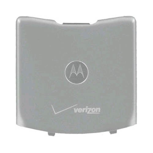 (OEM Motorola RAZR V3m Standard Battery Door Cover - Grey)