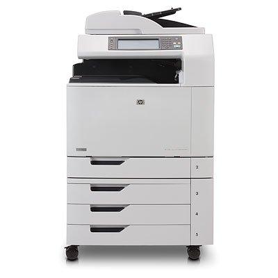 - HP Q3939A Color LaserJet CM6040f MFP - Multifunction printer - color - laser - Ledger/A3 (11.7 in x 17 in) (original) - A3 (297 x 420 mm), ANSI B (Ledger) (279 x 432 mm) (media) - up to 40 ppm (copying) - up to 40 ppm (printing) - 2100 sheets - 33.6 Kbps - USB 2.0, Gigabit LAN, USB host