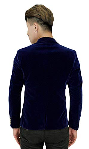 Casual Fit Simple Hellblau Slim Retro Blazer Homme Longues À Revers Pour Automne Couleur Printemps Blazers Targogo Unie Boutonnage Jacket Business Manches Collar W1Yzn1Ov